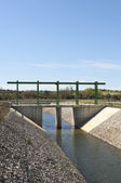 Water diversion canal — Stock Photo