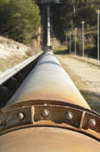 Water pipeline — Stock Photo