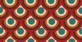 Naadloze cirkel patroon — Stockvector
