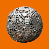 Hubcaps ball — Stock Photo