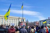 Meeting for Ukraine — Stock Photo