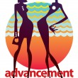 Advancement — Imagen vectorial