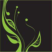 Green plant — Stock Vector
