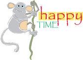 Happy time — Stock Vector