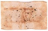 Yaşlı buruşuk kağıt — Stok fotoğraf