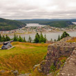 Historical fort on the island of Newfoundland — Stock Photo