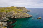 Coastal Rocks in Newfoundland — Stock Photo