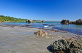 An Ocean Bay at Low Tide — Stock Photo