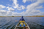 Heading out onto open waters — Stock Photo
