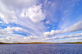 Dramatic Skies in the Boundary Waters — Stockfoto