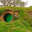 Scenes from Hobbiton in the Hobbit Movie - Stock Photo