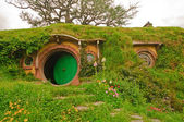 Scenes from Hobbiton in the Hobbit Movie — Stock Photo