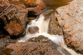 Small Cascade in a Rocky Canyon — Stock Photo