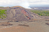 Spatter Cone of a Hawaiian Volcano — Stock Photo