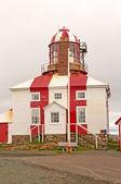 старый маяк на атлантическом побережье — Стоковое фото
