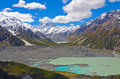Spectacular Alpine Vista in New Zealand — Stock Photo