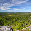Stock Photo: Panoramic View from Mountain Top