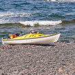 SeKayak on Remote OceBeach — Stock Photo #21777555