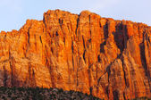Red Rock at Sunset — Stock Photo