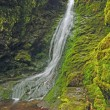 Falls in a Mossy Canyon — Stock Photo