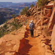 Hiking into the Canyon — Stock Photo #26902897