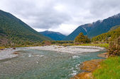 Glacial River at its afternoon peak — Stock Photo