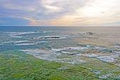 Wczesnym rankiem na wybrzeżu oceanu — Zdjęcie stockowe