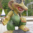 Stock Photo: Statue of Troll in ScandanviTown