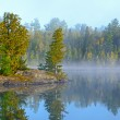 Fog and Mist at Morning in the Lake Country — Stock Photo #35146217
