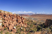 Southwest Desert Panorama — Stock Photo