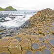 Dramatic View of Basalt Columns on Coast — Stock Photo #35522697