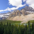 Stock Photo: Dramatic Mountains on Summer Day