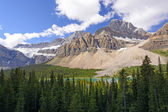 Dramatic Mountains on a Summer Day — Stock Photo
