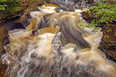 Swirling Waters on a Secluded River — Foto Stock
