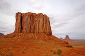 Red Rock Butte in the Desert — Photo