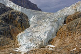 Hanginmg Glacier in the Mountains — Foto Stock