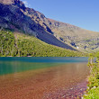 Colorful Mountain Lake on a Summer Day — Stok fotoğraf