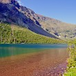 Colorful Mountain Lake on a Summer Day — Photo