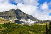Hidden Glacier on a Jagged Peak — Stock Photo