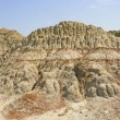 Colorful Badlands formation in the Summer — Stock Photo