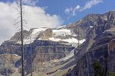 Alpine Glacier on a Barren Peak — Stock Photo