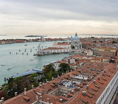 View of Venice with a bird's-eye view — Foto de Stock