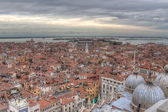 View of Venice with a bird's-eye view HDR — Stock Photo