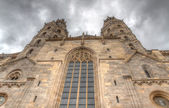 Vienna view of St. Stephen's Cathedral — Stock Photo