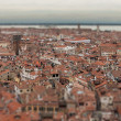 Stock Photo: View of Venice with bird's-eye view