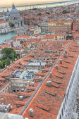 View of Venice with a bird's-eye view — Stock Photo