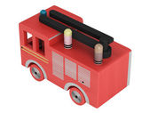 Fire truck toy — Stock Photo