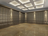 Interior of a bank vault — Stock Photo