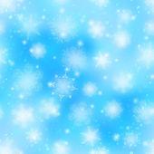Snowflakes, seamless — Stock Photo