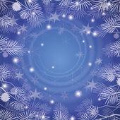Vánoční pozadí偽物のクリスマス背景 — ストックベクタ